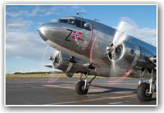 KLAR IGJEN: Flyet er nå igjen i ordne etter en magnetfeil som ble utbedret torsdag. FOTO: Martin Nilsen