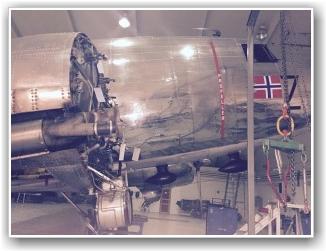 KLAR: Det er klar for ny motor så fort den ankommer fra USA. FOTO: Stig Rune Håvardstun