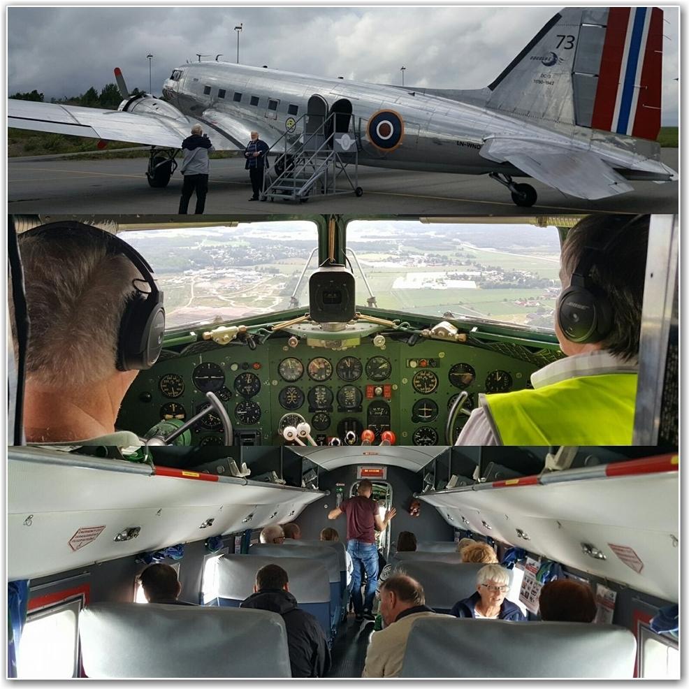 VELKOMMEN OMBORD: En medlemsflyging i bilder. FOTO: Jan Terje Kaaby