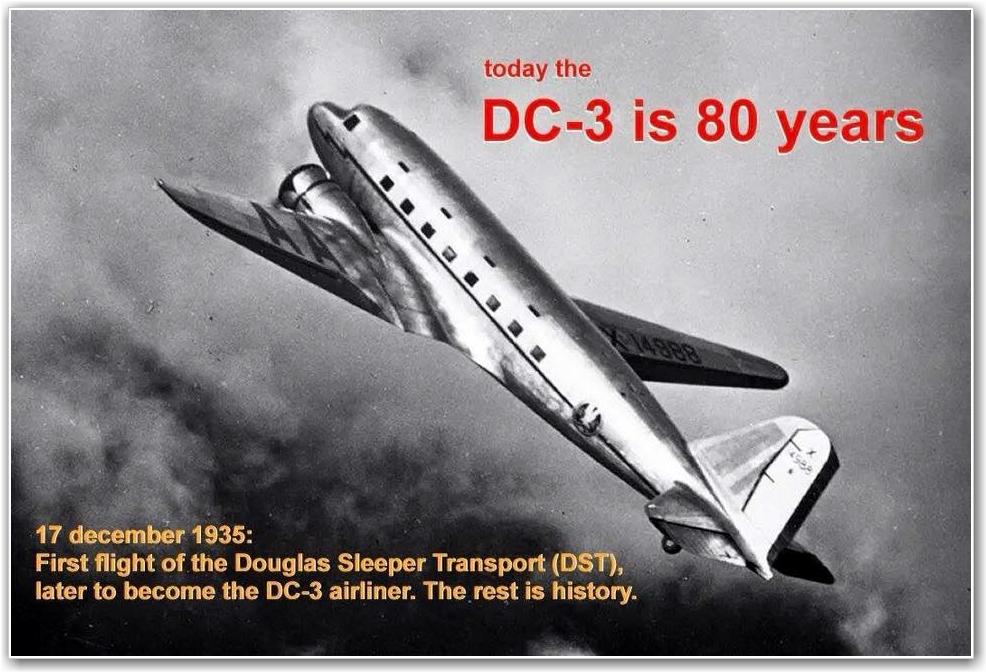 GRATULERER MED DAGEN: 80 år siden første flight!