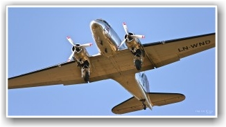 TESTFLYGING:  Bilde er tatt på medlemsflyging på onsdager. Siste del av innflyging til Torp med hjul og flap ute. FOTO: Alf Løvvold
