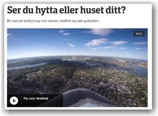 SER DU HJEM?: Bli med på en tur over Vestfold. FOTO: NRK.NO